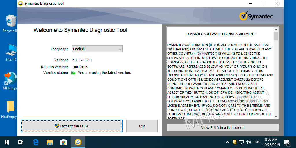 Fix installation issues (SymDiag)