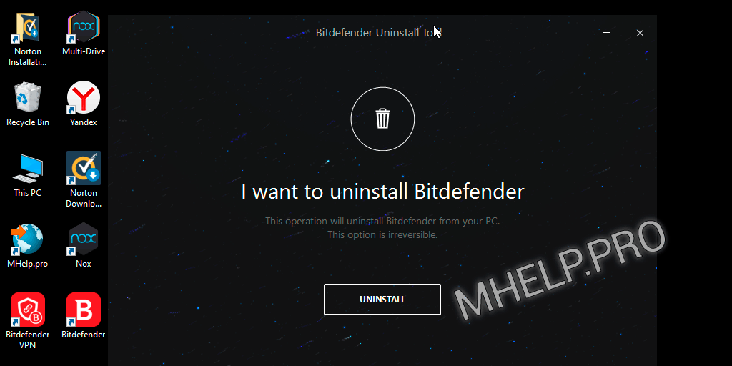 Complete remove Bitdefender Endpoint Security