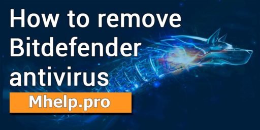 How to remove Bitdefender